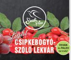 SZAFI FREE CSIPKEBOGYÓ-SZŐLŐ LEKVÁR 350G